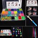 preiswerte Regenbogen Loom-Spaß Silica Gel Klassisch Stücke Kinder Jungen Mädchen Spielzeuge Geschenk