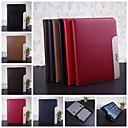 abordables Pochettes / Coques d'iPad-Coque Pour iPad 4/3/2 Avec Support Coque Intégrale Couleur Pleine faux cuir pour iPad 4/3/2
