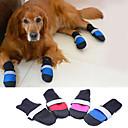 hesapli Emniyet Kemeri Tokaları-Köpek Ayakkabılar ve Botlar Sıcak Tutma Solid Siyah Gül Kırmzı Mavi Evcil hayvanlar için