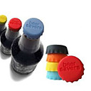 cheap Barware & Openers-Candy-colored  Silicone Material Stoppers(Random Color)