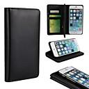 preiswerte Werkzeuge & Maschinen-Hülle Für Apple iPhone 6 iPhone 6 Plus Kreditkartenfächer mit Halterung Flipbare Hülle Ganzkörper-Gehäuse Volltonfarbe Hart PU-Leder für