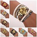 cheap Women's Watches-Women's Bracelet Watch Quartz Wrap Black / White / Blue Analog Ladies Casual Fashion - Red Pink Light Blue One Year Battery Life / Tianqiu 377