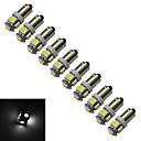 저렴한 다양한 LED 조명-1W 70-100 lm BA9S 장식 조명 5 LED가 SMD 5050 차가운 화이트 DC 12