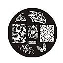 voordelige Nagelstempels-Abstract - Vinger/Teen/Andere Metaal - 1 - stuks 6*6*0.1 - (cm)