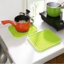 preiswerte Tischunterlagen-Küchengeräte Kunststoff Waermeisolierten Topflappen & Ofenhandschuh Für Kochutensilien 1pc