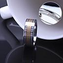 Недорогие Именные аксессуары-персональный подарок унисекс кольцо из нержавеющей стали выгравировано ювелирных изделий