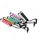 hesapli Erkek Kemerleri-iphone / ipad / samsung ve diğer anti-dusk kulaklık fişi ile kinston® 7 x kurşun geri çekilebilir kapasitif dokunmatik kalem