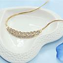 رخيصةأون أغطية أيباد-نسائي قلائد الحلي سيدات تقليد الماس سبيكة ذهبي قلادة مجوهرات من أجل