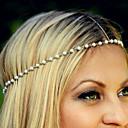זול תכשיטים לשיער-סרט לראש דמוי פנינה / סגסוגת פרח אלגנטית בגדי ריקוד נשים / רצועות ראש / רצועות ראש