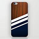 Χαμηλού Κόστους Θήκες iPhone-tok Για Apple iPhone 8 / iPhone 8 Plus / iPhone 6 Plus Με σχέδια Πίσω Κάλυμμα Νερά ξύλου Σκληρή PC για iPhone 8 Plus / iPhone 8 / iPhone 6s Plus