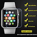 abordables Bracelets Apple Watch-beittal® 0,26 mm bord arrondi transparent 9h verre trempé protecteur d'écran pour la montre de pomme (38 42mm)