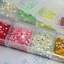 cheap Makeup & Nail Care-2500pcs 3mm round ab acrylic rhinestone nail art decoration