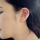 ieftine Cercei-Pentru femei Cercei Stud Cătușe pentru urechi Cercei cu spirală femei Small cercei Bijuterii Argintiu / Auriu Pentru Zilnic Casual