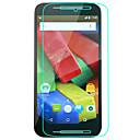 hesapli Motorola İçin Ekran Koruyucuları-Ekran Koruyucu için Motorola LG G2 Temperli Cam 1 parça Yüksek Tanımlama (HD)