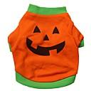 preiswerte Bekleidung & Accessoires für Hunde-Katzen / Hunde Kostüme / T-shirt Orange Hundekleidung Sommer Cosplay / Halloween