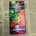 Недорогие Кейсы для iPhone 6-цепи скейтборд шаблон прозрачный ТПУ мягкий чехол назад для Iphone 6