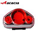 hesapli Şişeler ve Şişe Kılıfları-Bisiklet Arka Işığı / emniyet ışıkları / Tail Lights - Bisiklet Işıkları - Bisiklet Kolay Taşınır, Çoklu mod Düğme Pil Batarya Bisiklete biniciliği - Acacia / IPX-4