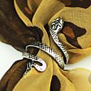 hesapli Yüzükler-Çiftlerin Bildiri Yüzüğü - alaşım 8 Gümüş / Altın Uyumluluk Parti Günlük Spor