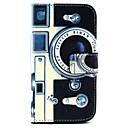 hesapli Galaxy S Serisi Kılıfları / Kapakları-Pouzdro Uyumluluk Samsung Galaxy Samsung Galaxy Kılıf Kart Tutucu Cüzdan Satandlı Flip Tam Kaplama Kılıf Karton PU Deri için Grand Prime