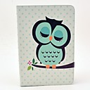 cheap iPad  Cases / Covers-Case For Apple iPad mini 4 / iPad Mini 3/2/1 with Stand / Flip / Pattern Full Body Cases Owl Hard PU Leather for iPad Mini 3/2/1 / iPad Mini 4