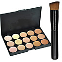 cheap Makeup & Nail Care-15 Colors Concealer / Contour Makeup Brushes Dry / Combination / Oily Concealer Face Makeup Cosmetic