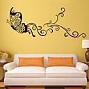 hesapli Ev Dekorasyonu-Hayvanlar Duvar Etiketler Hayvan Duvar Çıkartmaları Dekoratif Duvar Çıkartmaları, Vinil Ev dekorasyonu Duvar Çıkartması Duvar Dekorasyon