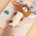 preiswerte Bekleidung & Accessoires für Hunde-Naturmaterialien mit niedlichen Bären Stil Design Haustier Katze Spielzeug Sisal scratcher Spielzeug für Katze