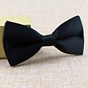 hesapli Erkek Kravatları ve Papyonları-Diğer Vintage Sevimli Parti İş Günlük Siyah Beyaz Kırmızı Mavi Other Düğün Tie Bar