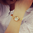Χαμηλού Κόστους Σετ κοσμημάτων-Γυναικεία Βραχιόλι Ρολόι Καθημερινό Ρολόι PU Μπάντα Βίντατζ / Μοντέρνα Χρυσό