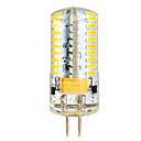 olcso LED betűzős izzók-ywxlight g4 7 w 72 smd 3014 650 lm meleg fehér / hűvös fehér nagy fényes kukorica izzók (ac / dc 12-24v)