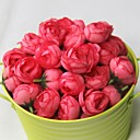 رخيصةأون ملصقات ديكور-زهور اصطناعية 1 فرع أسلوب بسيط الورود أزهار الطاولة