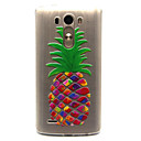 abordables Coques d'iPhone-Coque Pour LG G3 / LG Coque LG Transparente Coque Fruit Flexible TPU pour LG Spirit / LG C70 H422