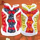 hesapli iPhone Yedek Parçaları-Kedi Köpek Paltolar Köpek Giyimi Cosplay Düğün Nakışlı Sarı Kırmzı Kostüm Evcil hayvanlar için