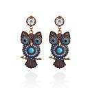 preiswerte Halsketten-Damen Tropfen-Ohrringe Ohrringe Schmuck Schwarz / Blau Für Party Alltag Normal