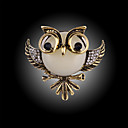 cheap Brooches-Brooches - Owl Ladies, Fashion Brooch Jewelry 1 / 4 / Silver / Black For Party / Special Occasion / Birthday / Gift / Daily / Casual