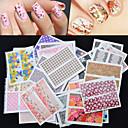 hesapli Makyaj ve Tırnak Bakımı-30 pcs Tırnak Takısı tırnak sanatı Manikür pedikür Sevimli Moda Günlük / Nail Jewelry