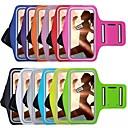 hesapli Evrensel Kılıflar ve Çantalar-Pouzdro Uyumluluk iPhone 6s Plus / iPhone 6 Plus / iPhone 6s Pencereli / Omuzbandı Kol Bandı Solid Yumuşak Tekstil için