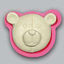abordables Gadgets & Ustensiles de Cuisine-ours moule d'argile chocolat candy jello gâteau moules pour outils de cuisson silicone savon moule ustensiles de cuisine