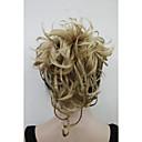 voordelige Nagelstempels-Clip-in Paardenstaart Synthetisch haar Haar stuk Haarextensies Natuurlijk golvend