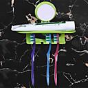 hesapli Banyo Gereçleri-1pc Yaratıcı Modern Plastik Diş Fırçalık Duvara Monte Edilmiş