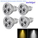hesapli LED Mum Işıklar-YouOKLight 300 lm GU10 LED Spot Işıkları R63 3 led Yüksek Güçlü LED Kısılabilir Dekorotif Sıcak Beyaz Serin Beyaz AC 85-265V