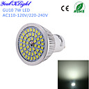 abordables Spots LED-YouOKLight 600 lm GU10 Spot LED A50 48 diodes électroluminescentes SMD 2835 Décorative Blanc Froid AC 110-130V AC 220-240V