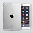 hesapli Atlama İpleri-Pouzdro Uyumluluk Apple Şeffaf Arka Kapak Solid TPU için iPad 4/3/2