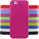 billige iPhone-etuier-Etui Til iPhone 5C / Apple Bagcover Blødt Silikone for iPhone 5c