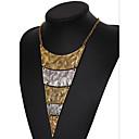 hesapli Bilezikler-Kadın's Katmanlı Açıklama Kolye / katmanlı Kolyeler - Vintage, Avrupa, Çoklu Katman Ekran Rengi Kolyeler Mücevher Uyumluluk