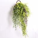 tanie Dekoracja biura-Sztuczne Kwiaty 1 Gałąź Pasterski Styl Rośliny Kwiaty na ścianę