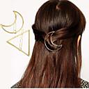 hesapli Saç Takıları-Kadın's Zarif alaşım Saç Klipsi - Çiçekli