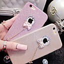 cheap iPhone Cases-Case For Apple iPhone X iPhone 8 iPhone 5 Case iPhone 6 iPhone 6 Plus iPhone 7 Plus iPhone 7 Rhinestone Back Cover Glitter Shine Soft TPU