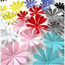 hesapli Peçeteler ve Peçete Halkaları-Botanik Duvar Etiketler 3D Duvar Çıkartması Dekoratif Duvar Çıkartmaları, Vinil Ev dekorasyonu Duvar Çıkartması Duvar