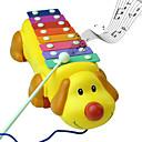 رخيصةأون ساعات الرجال-كلب لطيف ضربات الملونة البيانو لعب الآلات الموسيقية والموسيقى